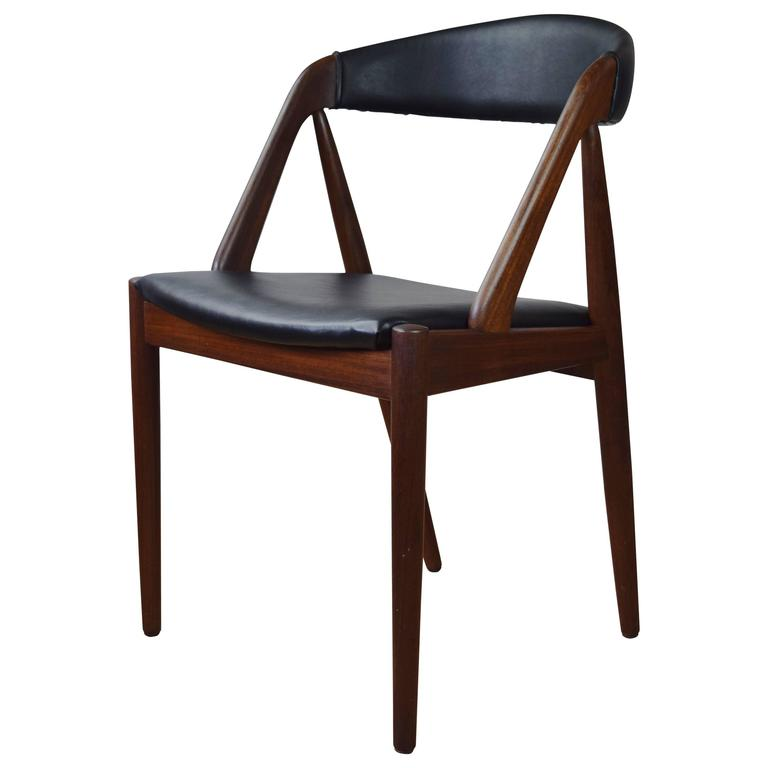 Model 31 dining chair by kai kristiansen for schou andersen 1960s for sale at 1stdibs - Kai kristiansen chairs ...