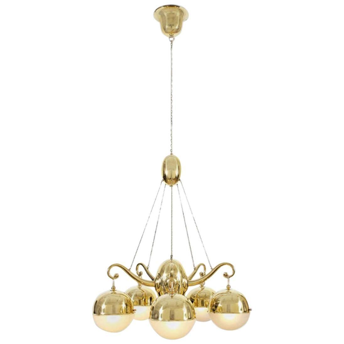 Josef Hoffmann & Wiener Werkstaette Ceiling Lamp, Re-Edition