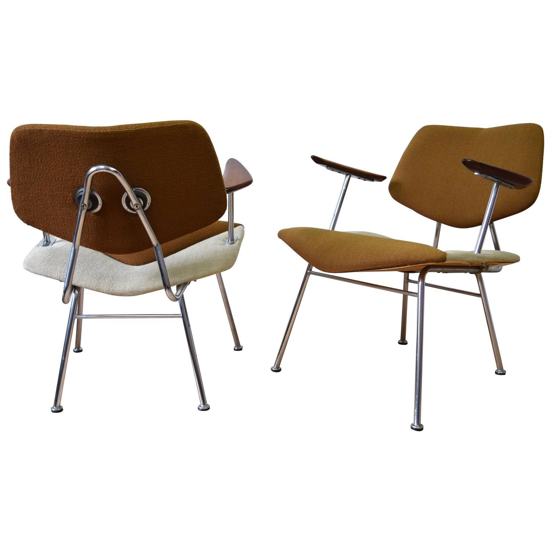 Danish Studio Chairs By Vermund Larsen For V.L. Møbler, 1961 At 1stdibs