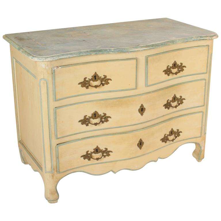 Louis XV Provincial Painted Commode