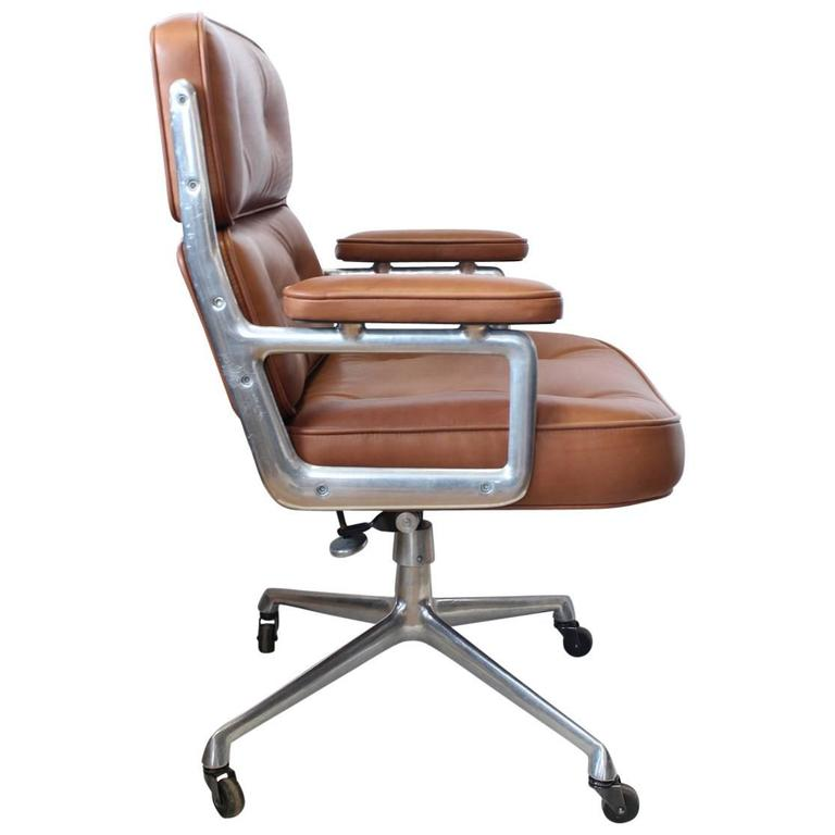 Time Life Executive Leather Chair By Eames For Herman Miller Sale
