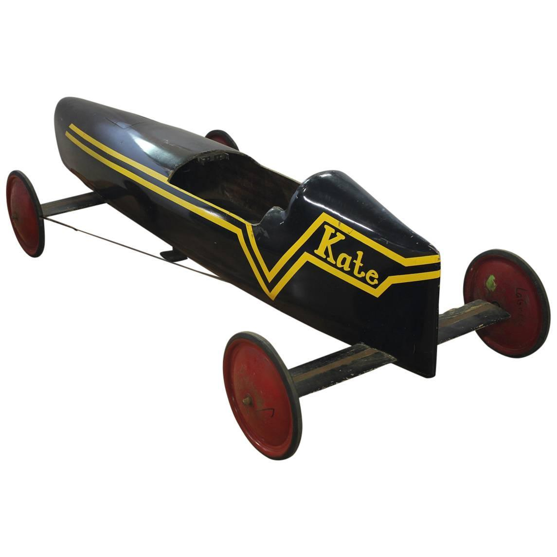 """1950s American Soap Box Derby Car """"Kate"""" For Sale At 1stdibs"""