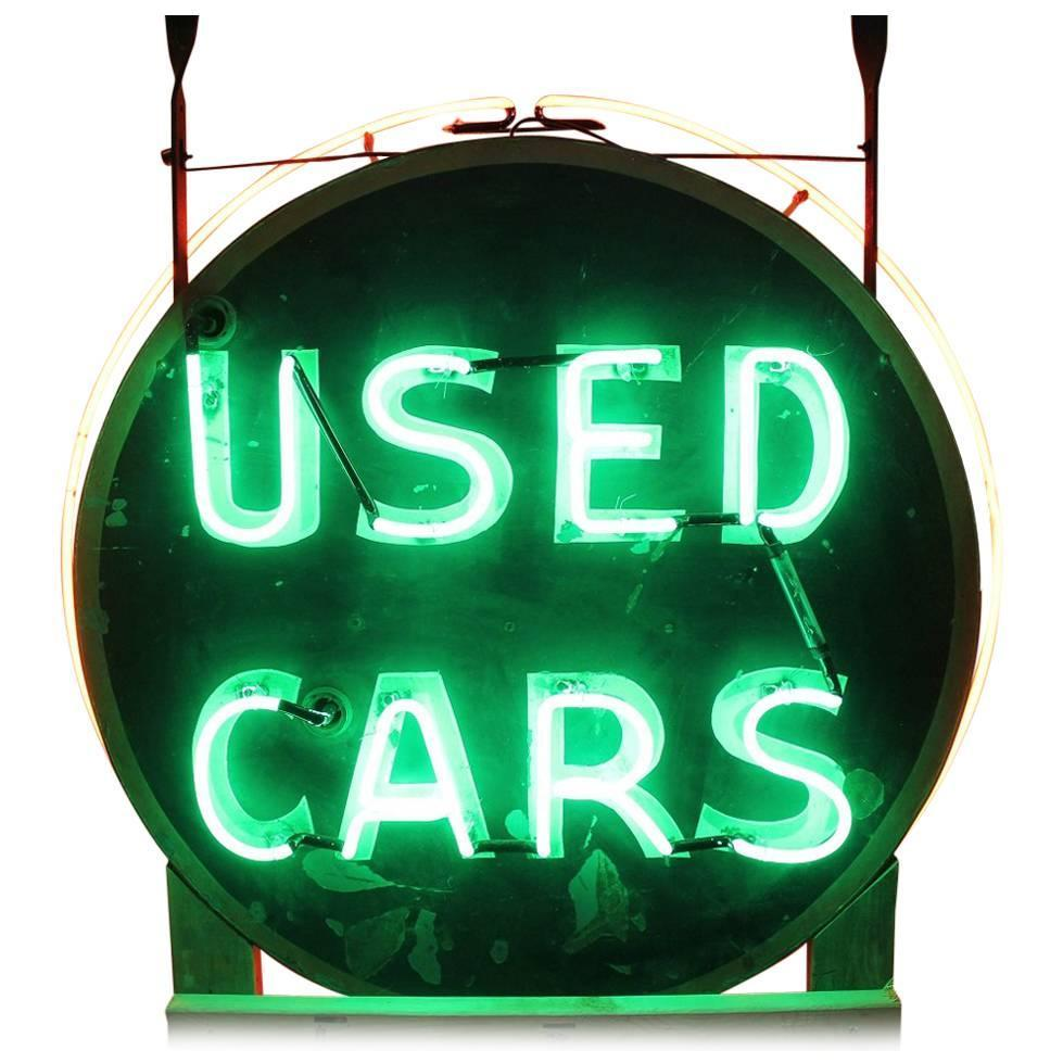 neon used sign signs metal cars 1950s painted hand sided double breakfast sale 1930 lunch circa dinner