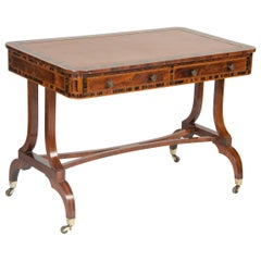 Rosewood and Calamander Regency Library Table