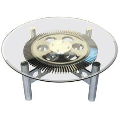 Rolls Royce Jet Engine Impeller Low Table from England