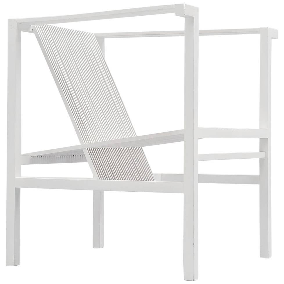 Ruud Jan Kokke High Slat Chair by Metaform, 1984
