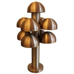 Rare Maija Liisa Komulainen Table Lamp Cantharelle for RAAK Amsterdam, 1970s