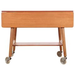 Mid-Century Modern Danish Occasional Table by Hans Wegner