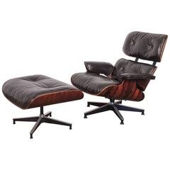 670 Eames Lounge Chair and 671 Ottoman