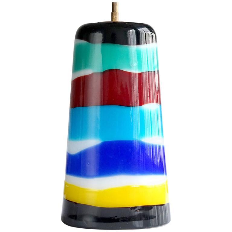 Massimo Vignelli for Venini Pendant Light