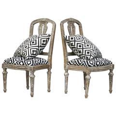 18th Century Italian Slipper Chairs