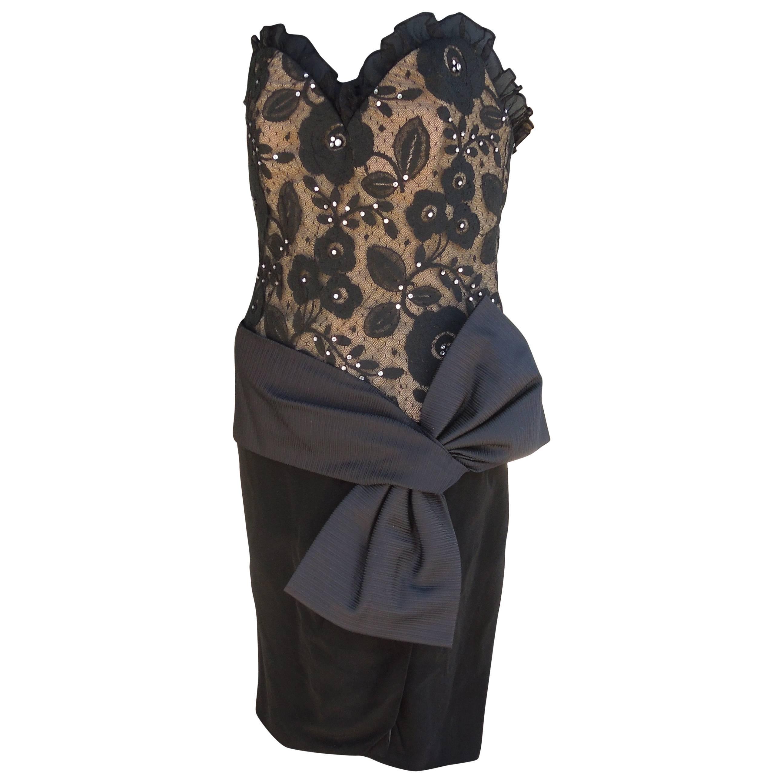 Martha New York Chic Little Black Dress Attributed to Bill Blass