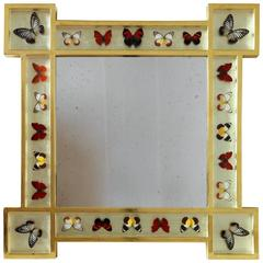 Red Butterfly Mirror
