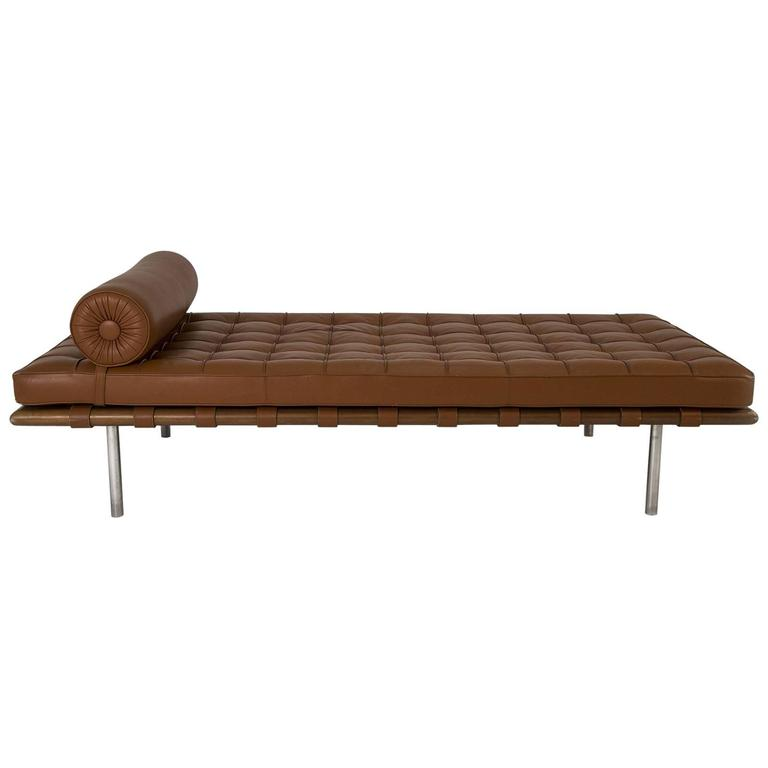 barcelona daybed by mies van der rohe for knoll for sale. Black Bedroom Furniture Sets. Home Design Ideas