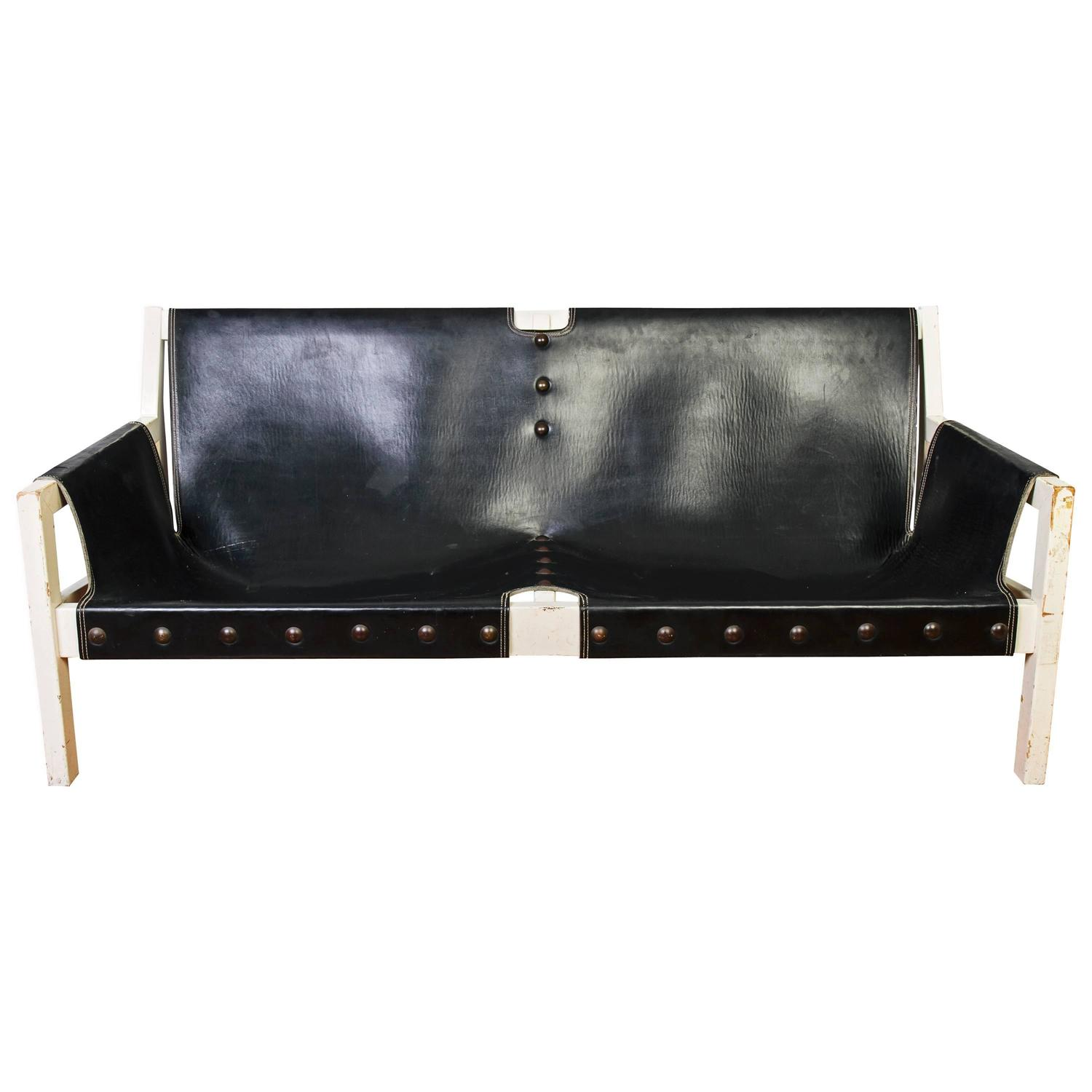 Black Italian Leather Sofa For Your Reference