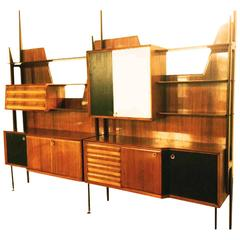 Bookcase by Vittorio Dassi for Gio Ponti, circa 1950