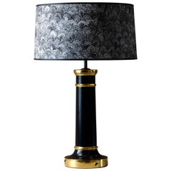 Gilded Woodlice Lamp