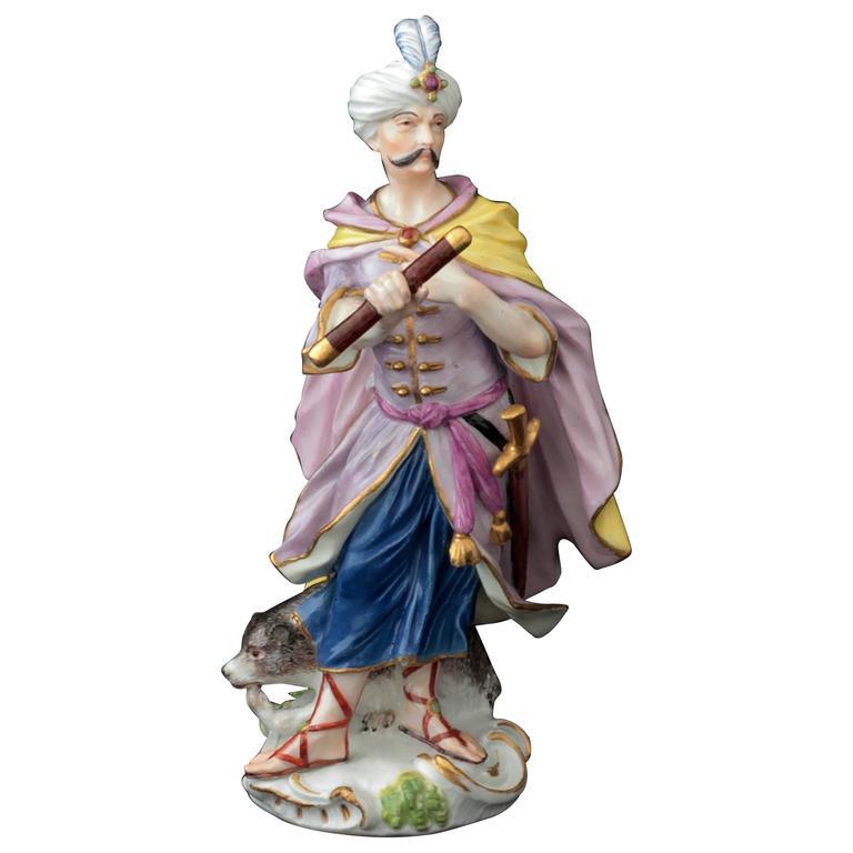 Meissen Porcelain Figure of Cyrus, circa 1750