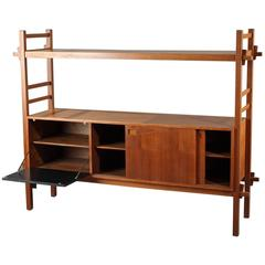 Teak Wood Scandinavian Chest of the 1960s