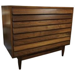 1950 American of Martinsville Walnut Dresser