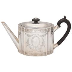 Georgian Sterling Silver Tea Pot
