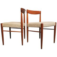 Pair of Teak Chairs by Henry W Klein for Bramin, 1960s