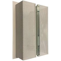 Wall Sconce with Perforated Metal