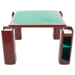 1970s Game, Card or Dining Table by Pierluigi Molinari for Pozzi Milano