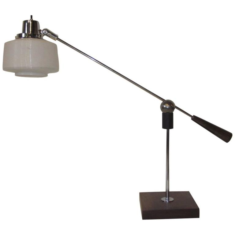 Heifetz Adjustable Desk or Table Lamp by Gilbert Waltrous