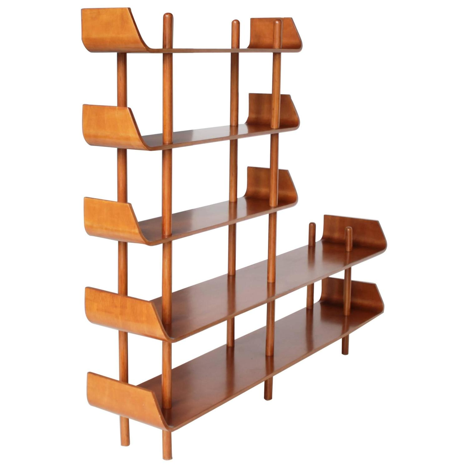 Shelving Unit Or Room Divider By Lutjens For Gouda Den Boer Holland At 1stdibs