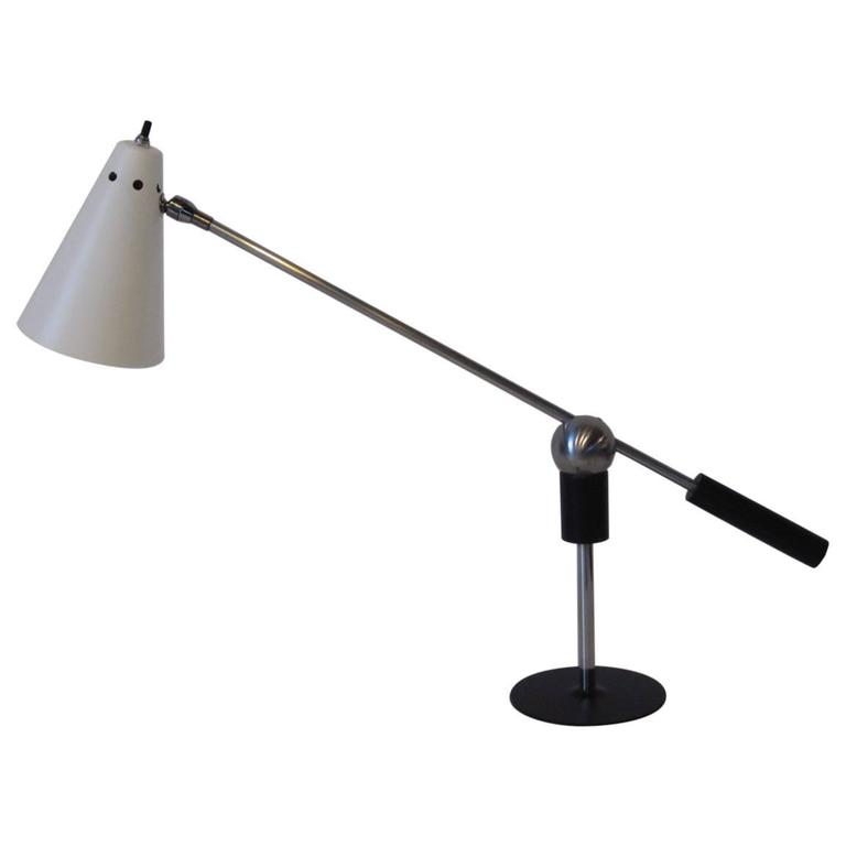 Heifetz Table or Desk Lamp by Gilbert Waltrous