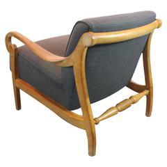John Van Koert for Drexel Elegant Mid-Century Lounge Chair
