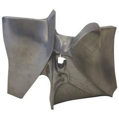 "Art Brenner Cast Aluminium Sculpture ""Icarus # 4a"""
