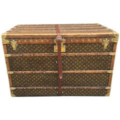 Louis Vuitton Monogram Steamer Trunk with Multiple Trays