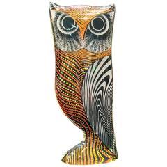 Large Abraham Palatnik Two-Tone Lucite Owl
