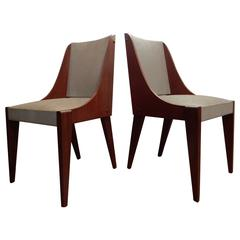 Pair of Andre Sornay Chic Chairs