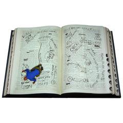 "American artist Peter Sarkisian Moving Video Art, ""Book 1"", 2011"