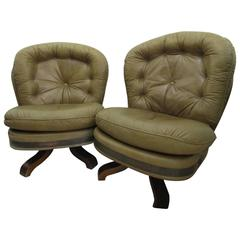Pair of Majestic Design Armchairs