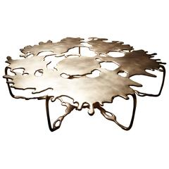 Bronze Magnum Opus Puddle Coffee Table by Stefan Bishop