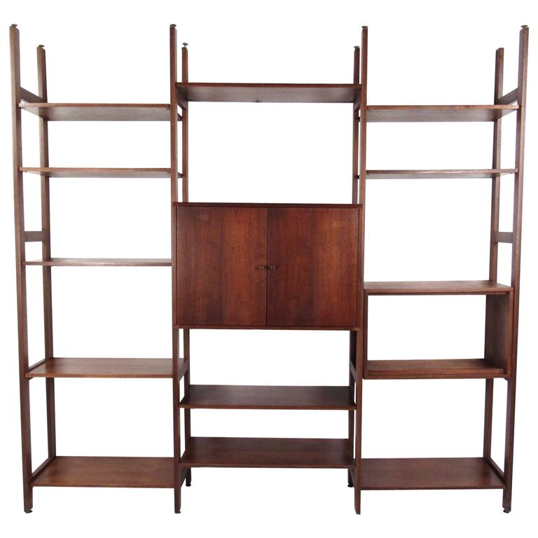Vintage Bookshelf or Wall Unit