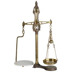 Iron and Brass Balance Scale