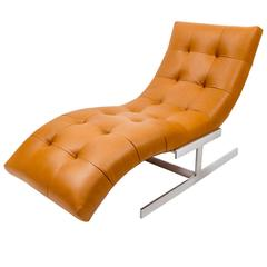 Milo Baughman 'Wave' Chaise