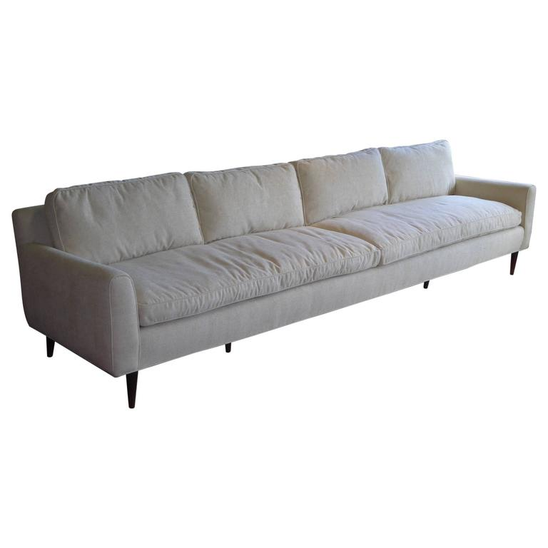 1957 Gio Ponti Bespoke Sofa for Singer and Sons, Mid-Century Modern