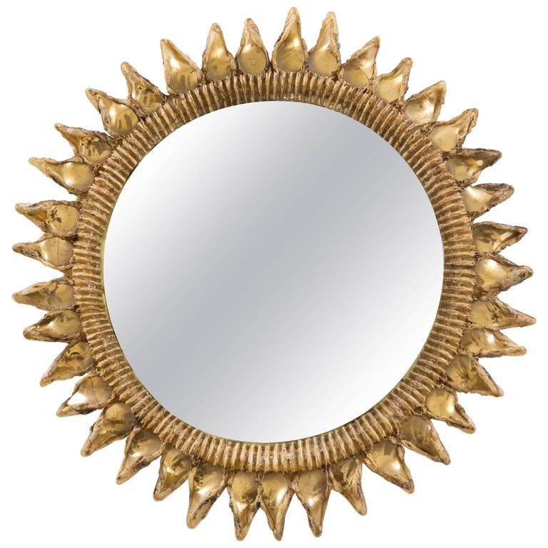 "Mirror Line Vautrin ""Chardon"", circa 1955 For Sale"