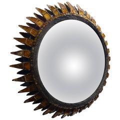 "Line Vautrin, '1913-1997', Mirror ""Soleil à pointes"""