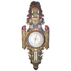 Rare French Revolution Era Barometer