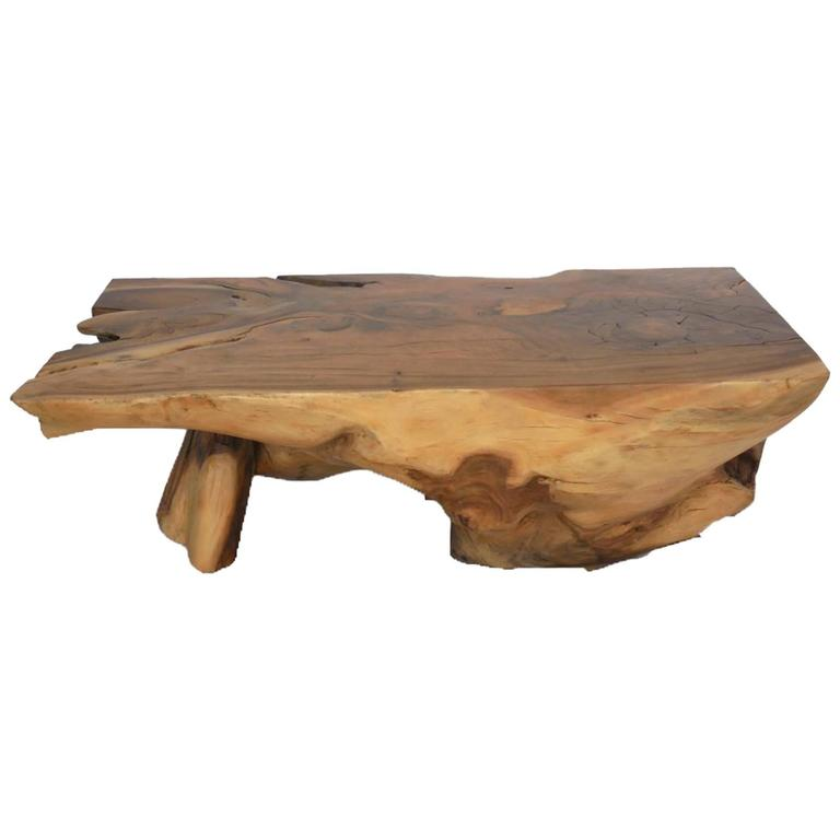 Root Coffee Table For Sale: Tropical Hardwood Root Coffee Table At 1stdibs