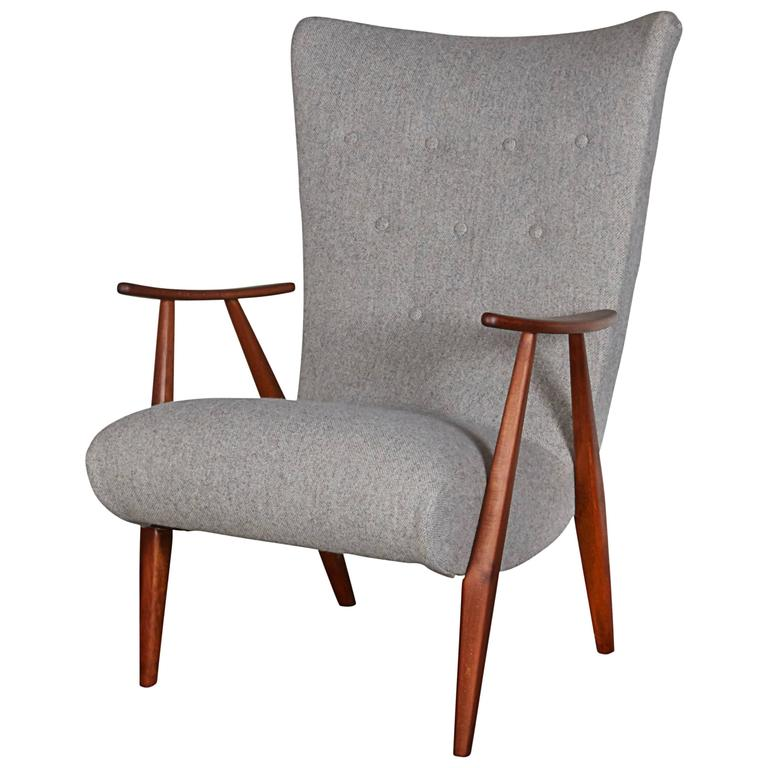 Mid Century Teak Arm Chair 1