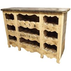 Cave Bordeaux Poplar Wine Carrier from France