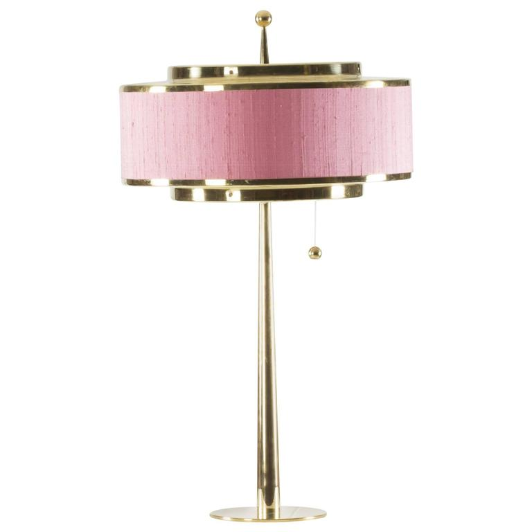 Brass Table Lamp by Hans-Agne Jakobsson